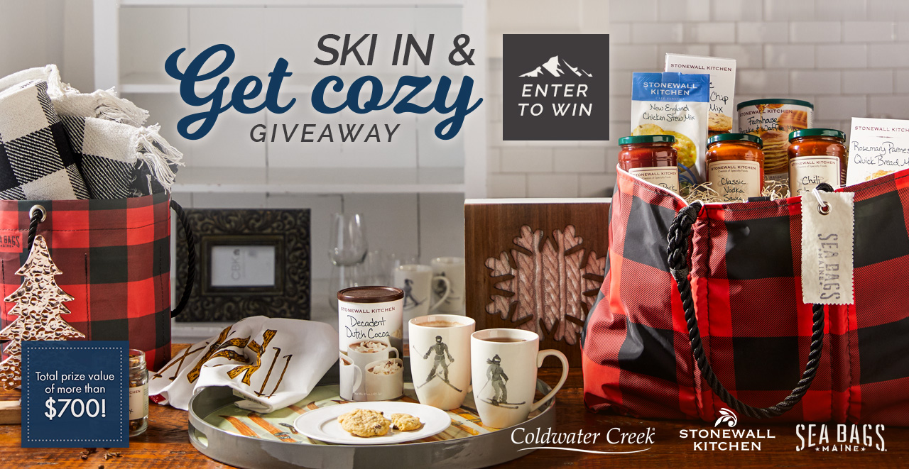 Enter To Win Our Ski In U0026 Get Cozy Holiday Giveaway!