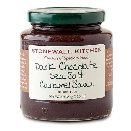 Dark Chocolate and Sea Salt Caramel Sauce