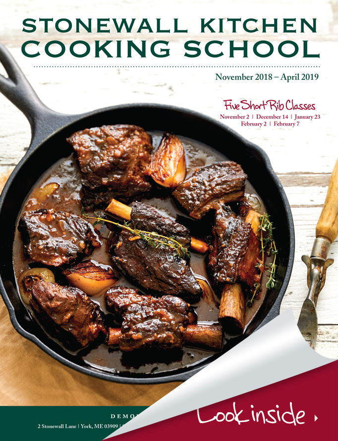 Stonewall Kitchen Cooking School Course Guide