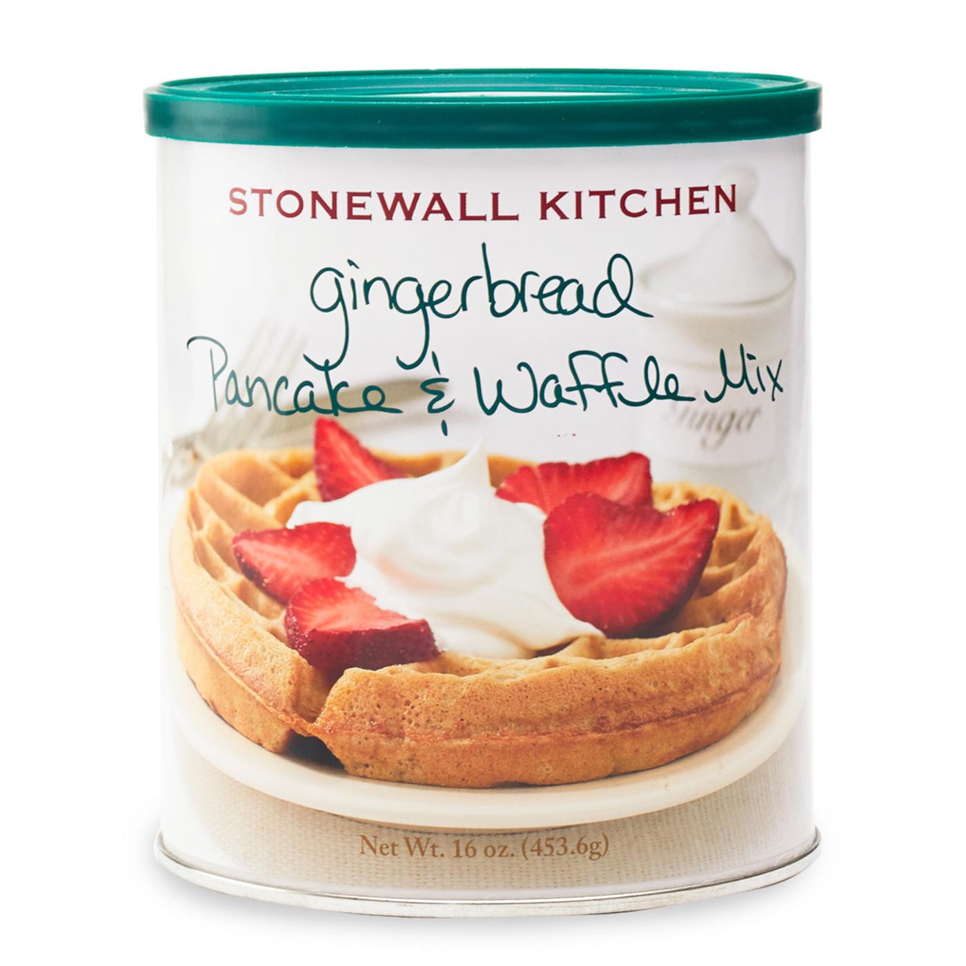 gingerbread pancake waffle mix pancakes syrups stonewall kitchen rh stonewallkitchen com stonewall kitchen pancake mix review stonewall kitchen pancake mix uk