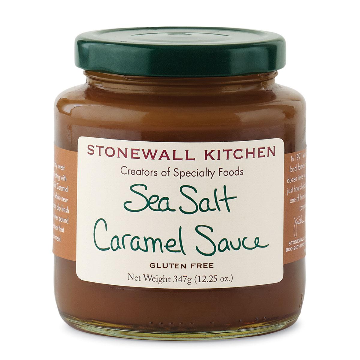 Sea Salt Caramel Sauce | Dessert Sauces & Candy | Stonewall Kitchen