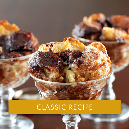 Bittersweet Chocolate Bread Pudding   Recipes   Stonewall ...