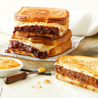 Mom's Meatloaf Grilled Cheese