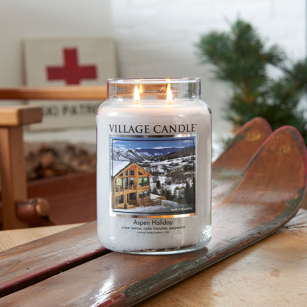 Aspen Holiday Candle image number 4