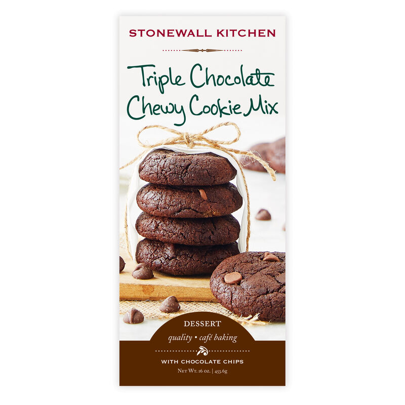 Triple Chocolate Chewy Cookie Mix