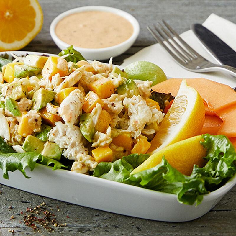 Crabmeat and Mango Salad