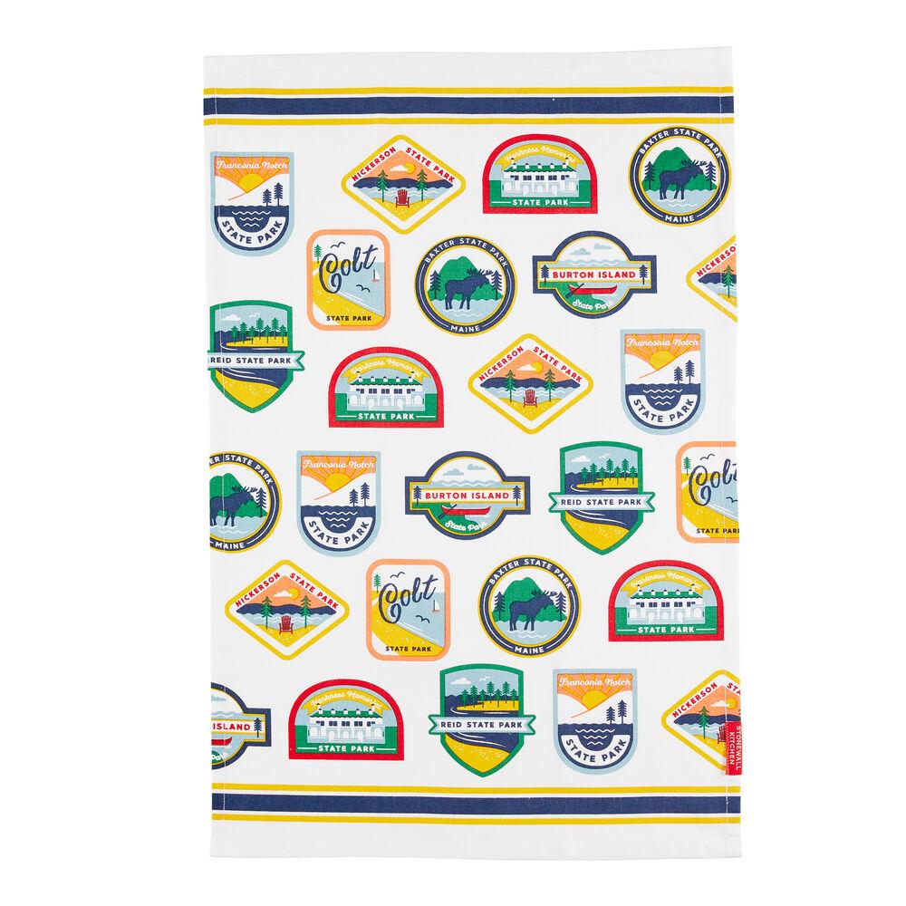 State Parks Tea Towel image number 0