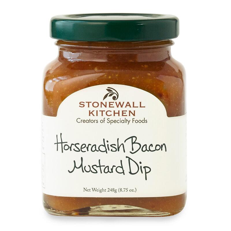 Horseradish Bacon Mustard Dip