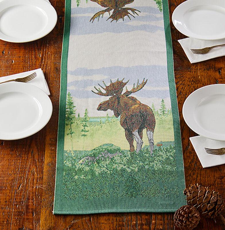 Moose Table Runner