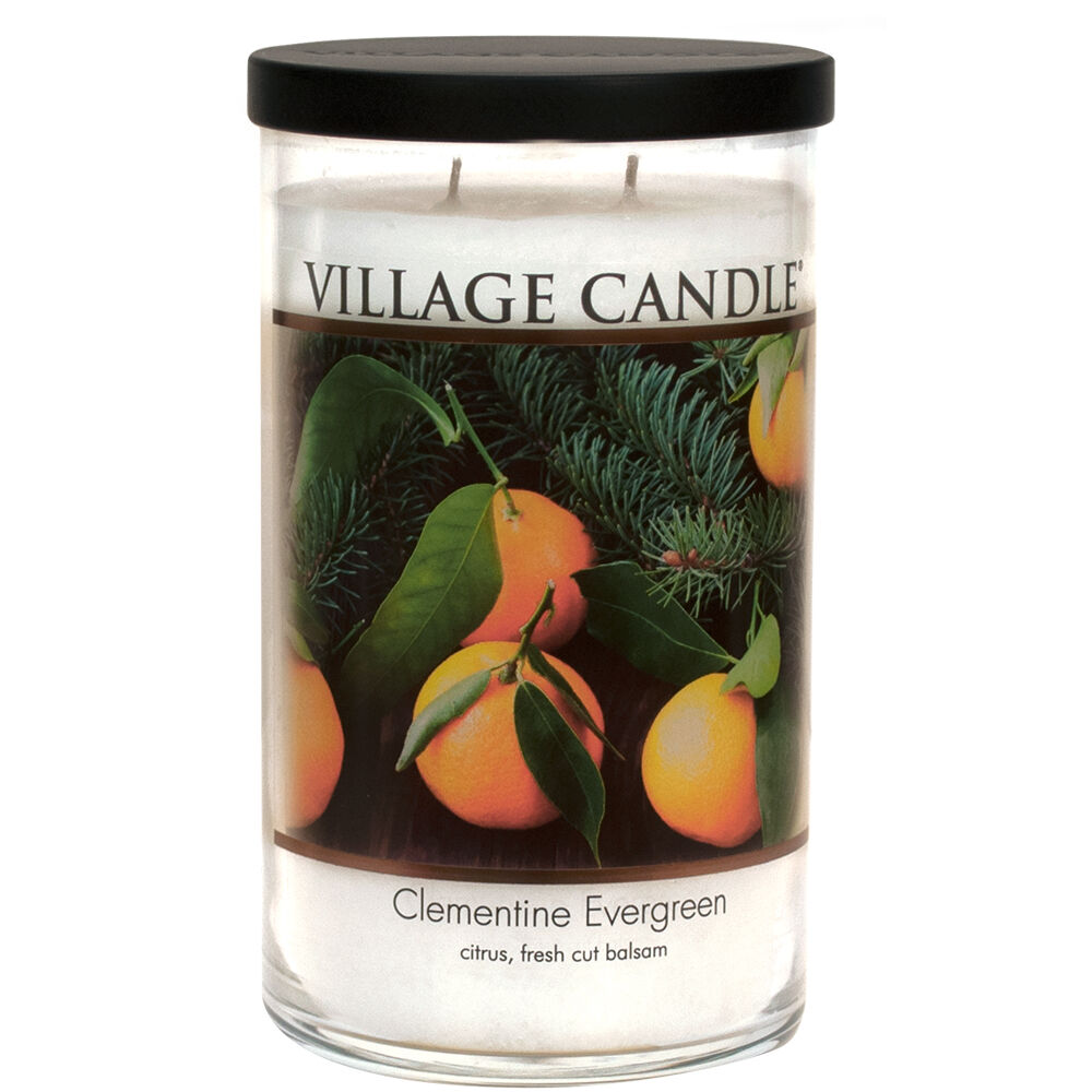 Clementine Evergreen Candle image number 0