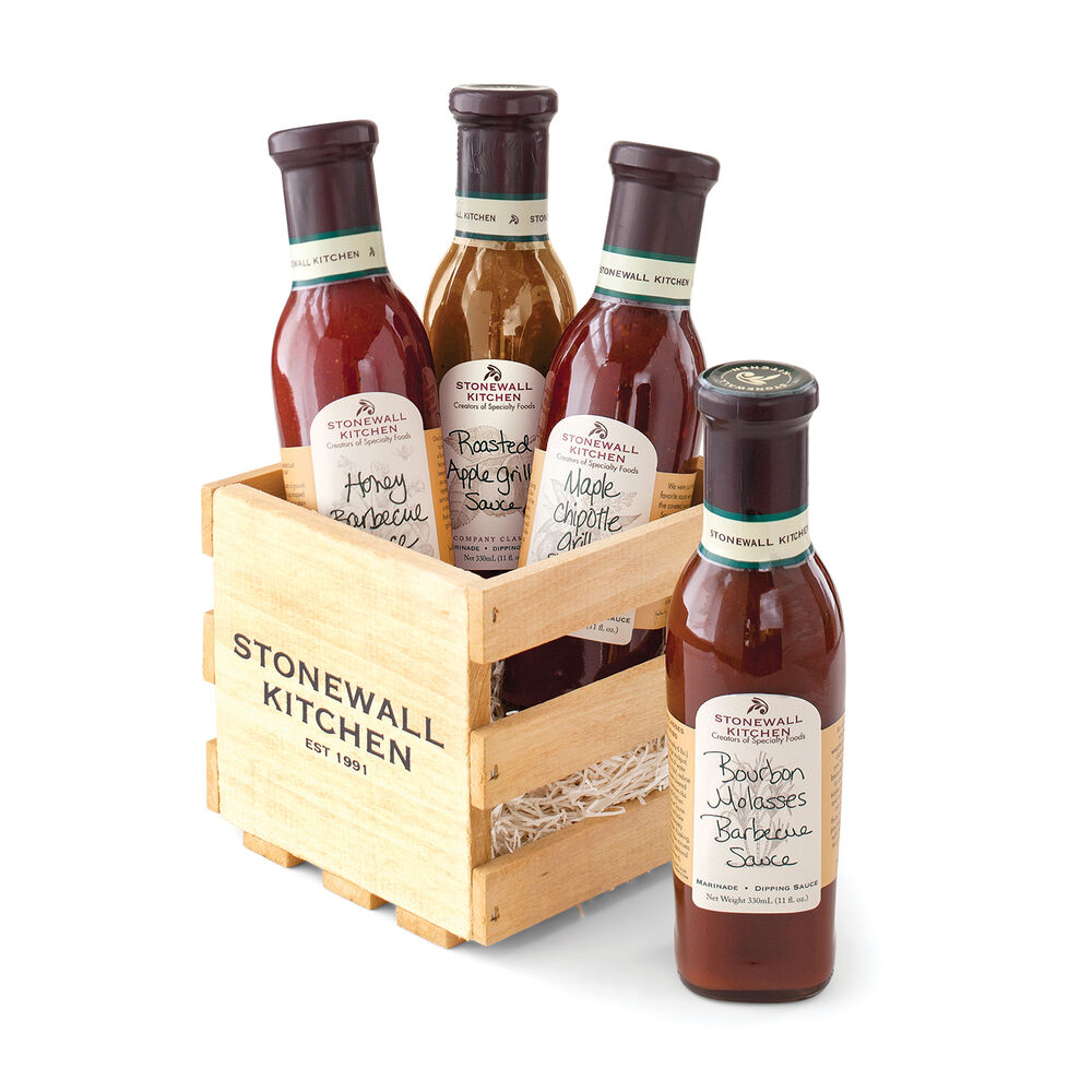 Grille Sauce Gift Crate image number 0
