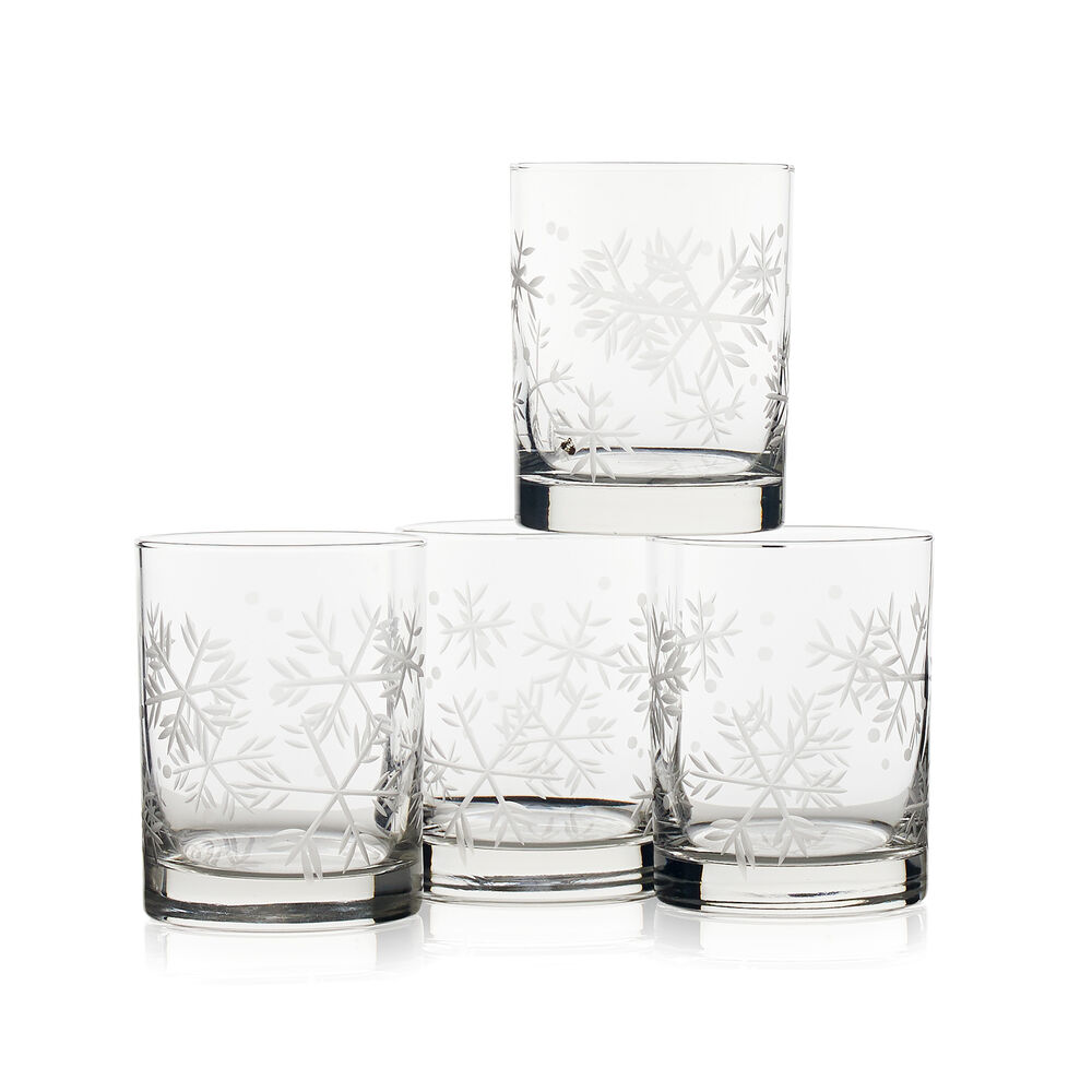 Blizzard Double Old Fashioned Glasses (Set of 4) image number 0