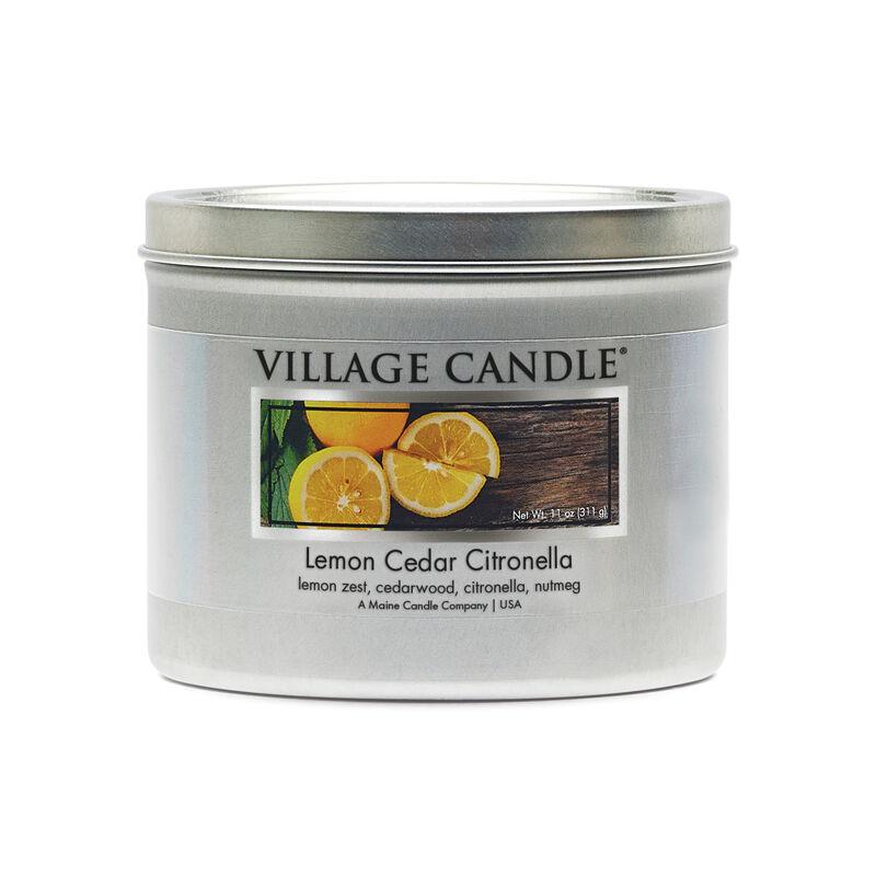 Lemon Cedar Citronella Candle