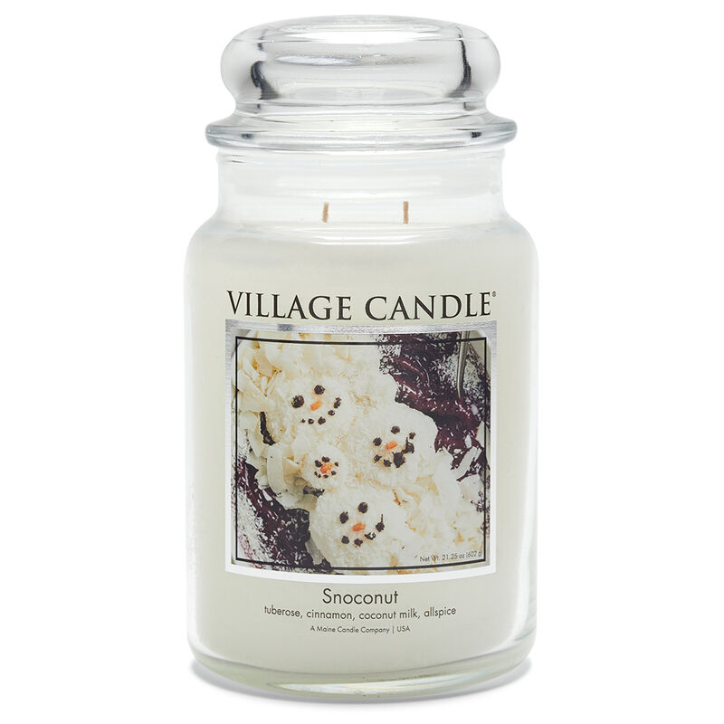 Snoconut Candle