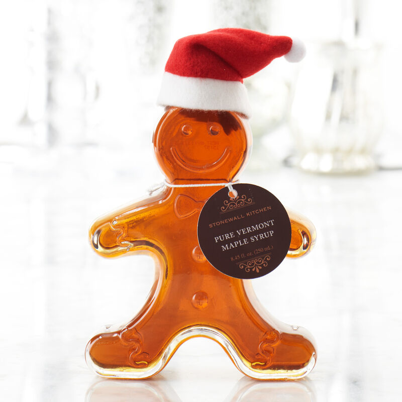 Gingerbread Man Maple Syrup