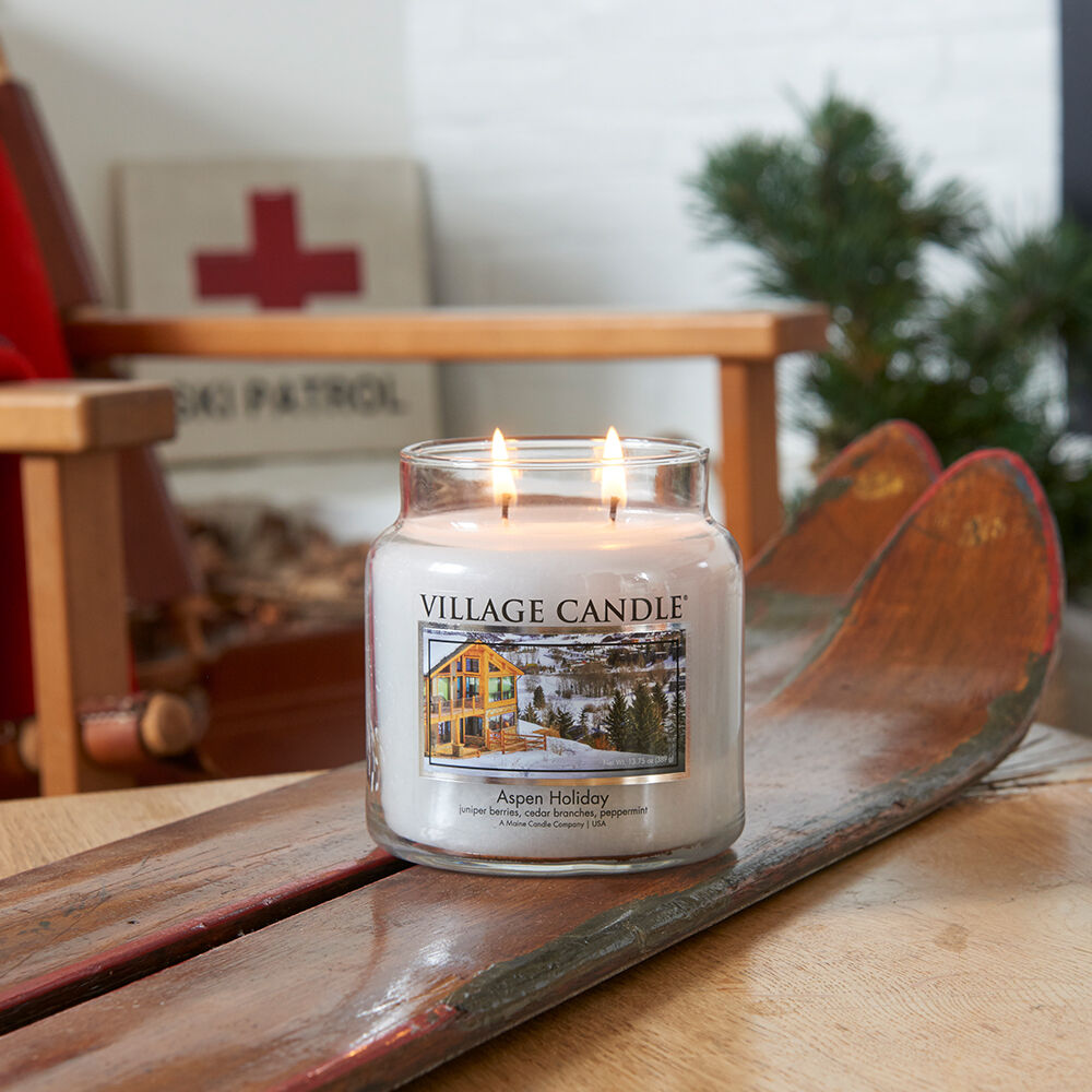 Aspen Holiday Candle image number 5