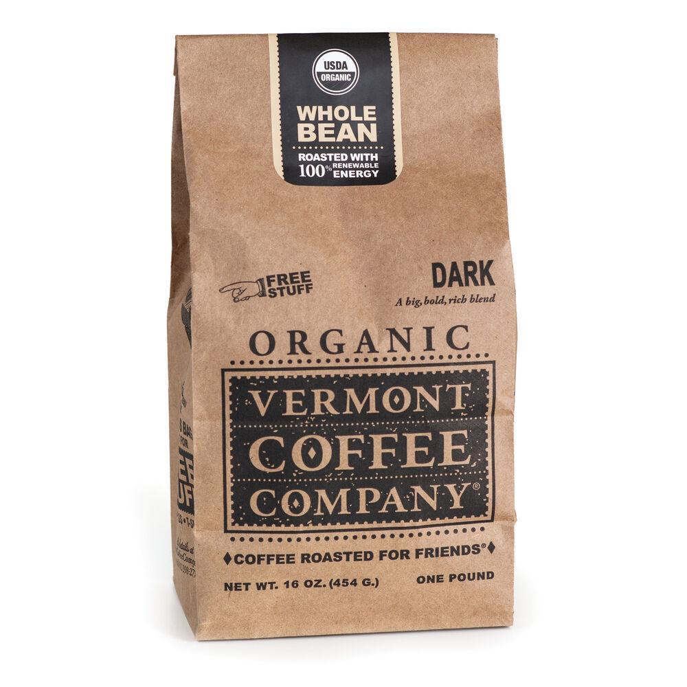Dark Whole Bean Coffee 16oz image number 0