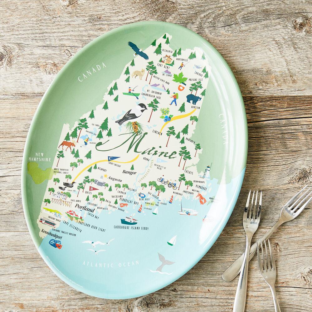 "Maine 16"" Oval Platter image number 0"