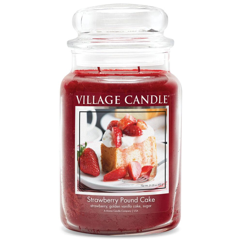 Strawberry Pound Cake Candle image number 0