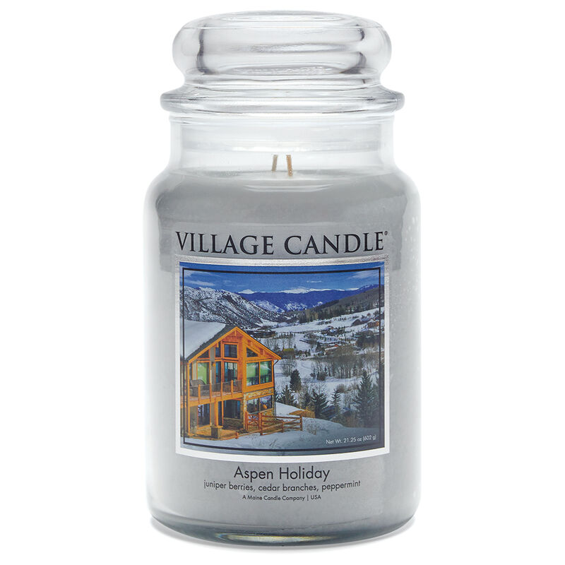 Aspen Holiday Candle