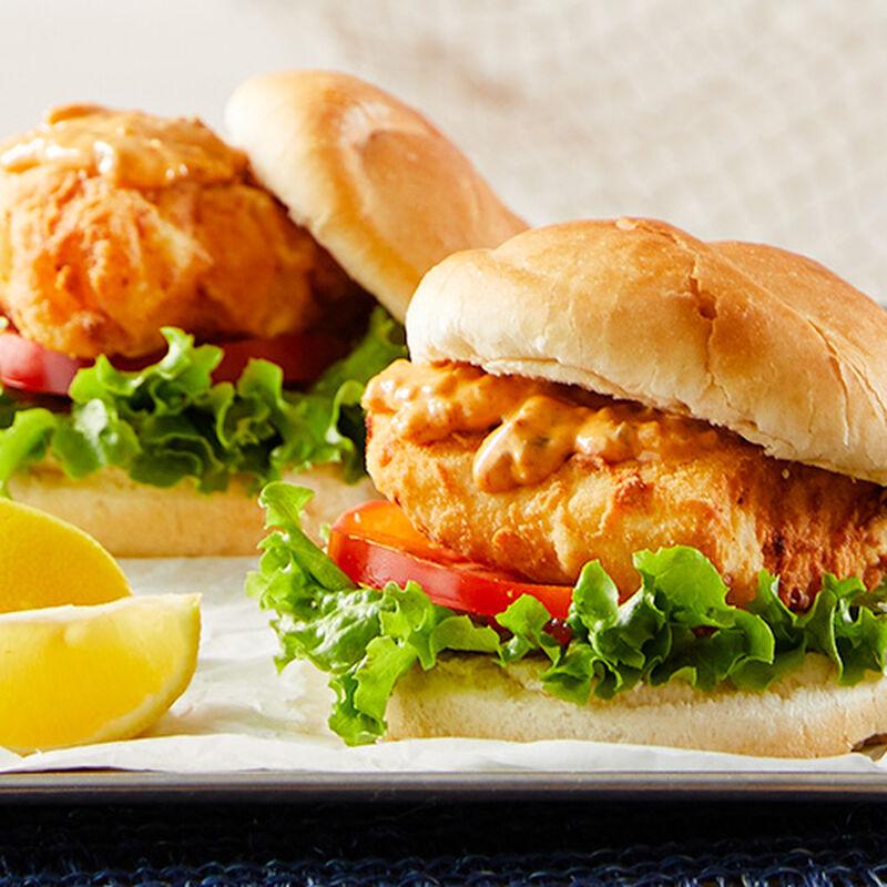 Legal Sea Foods Fried Fish Sandwich