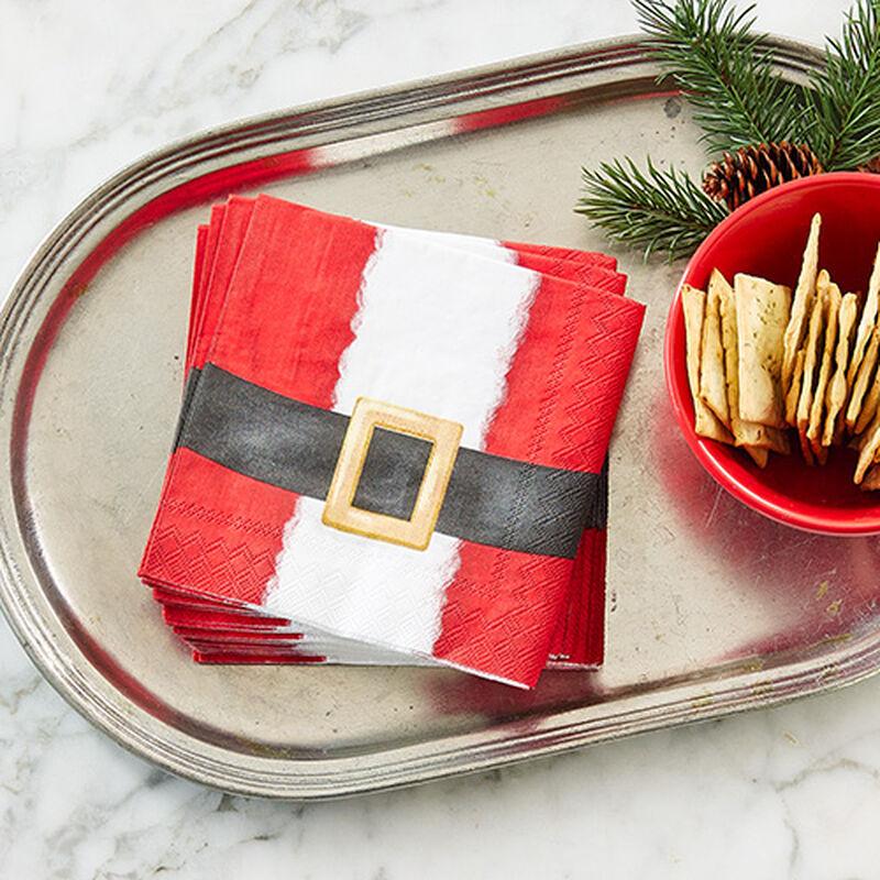 Santa Suit Cocktail Napkins