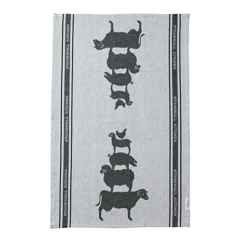 Farmyard Friends Tea Towel