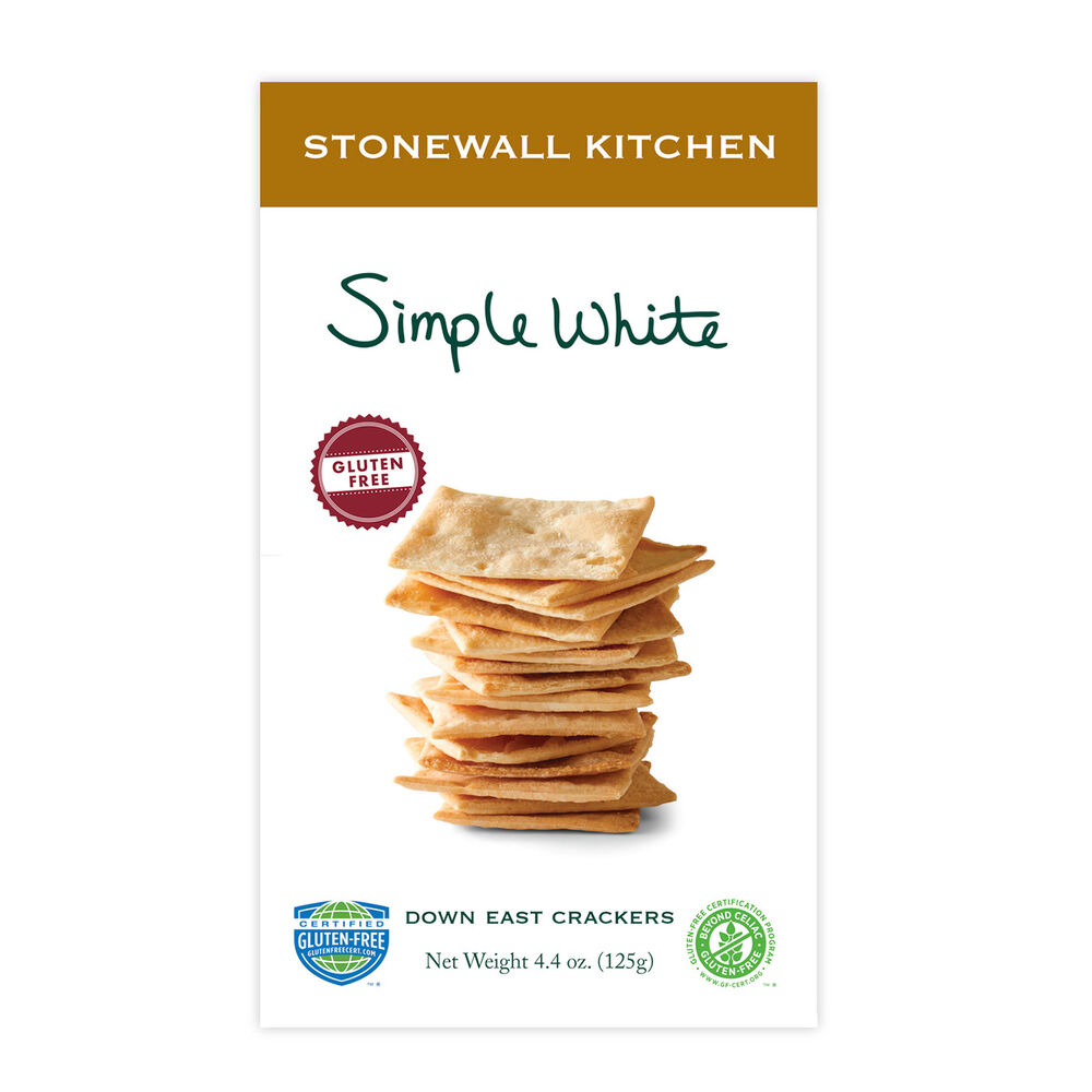 Gluten Free Simple White Crackers image number 0