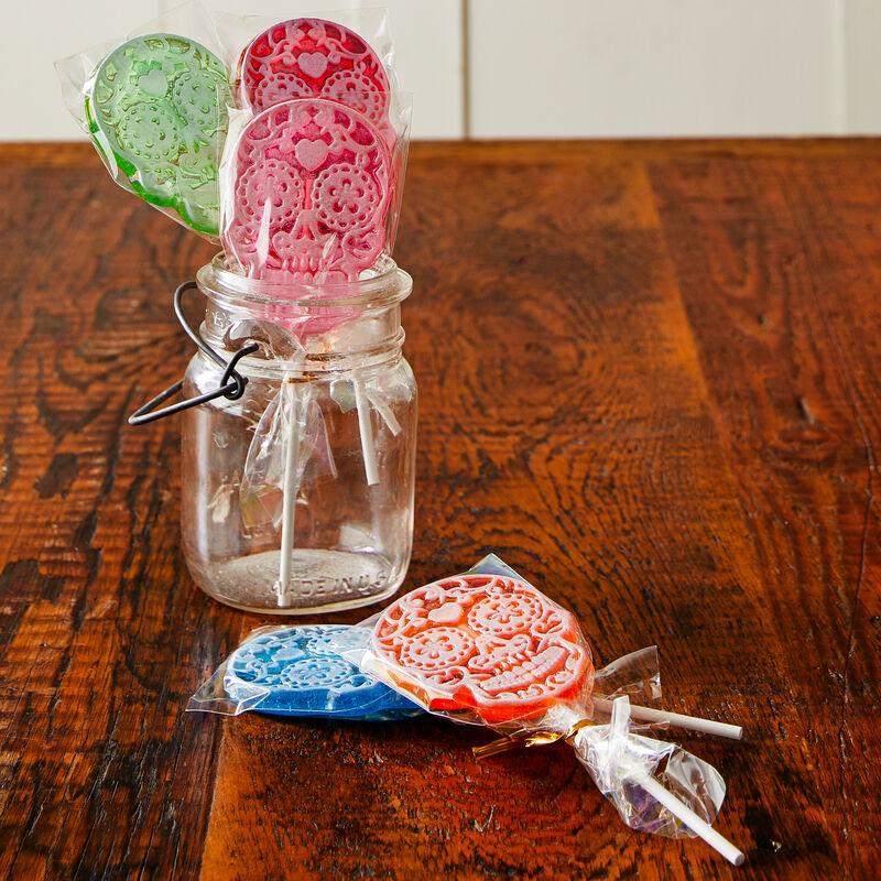 Sugar Skull Lollipop