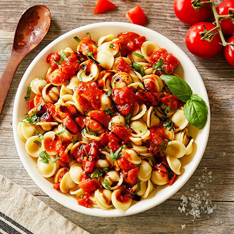 Tomato Bruschetta Pasta Salad