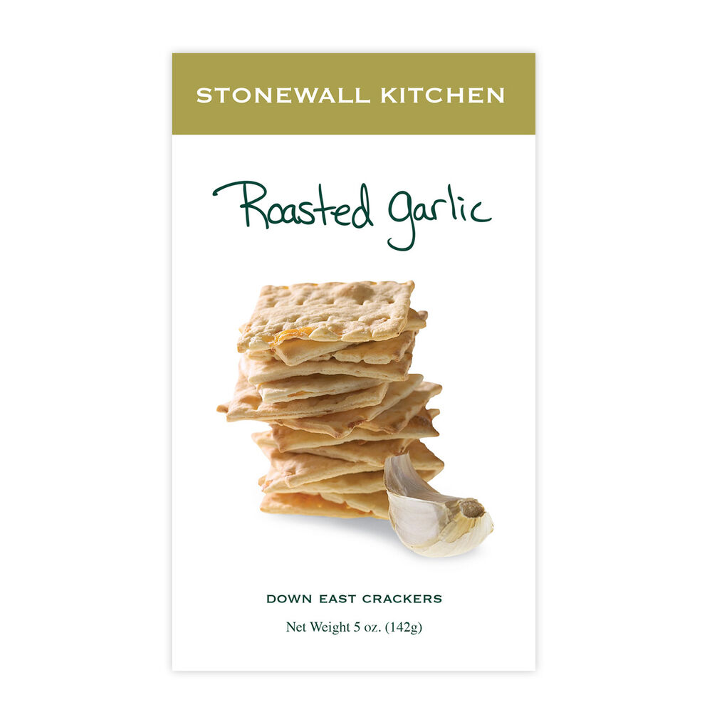 Roasted Garlic Crackers image number 0