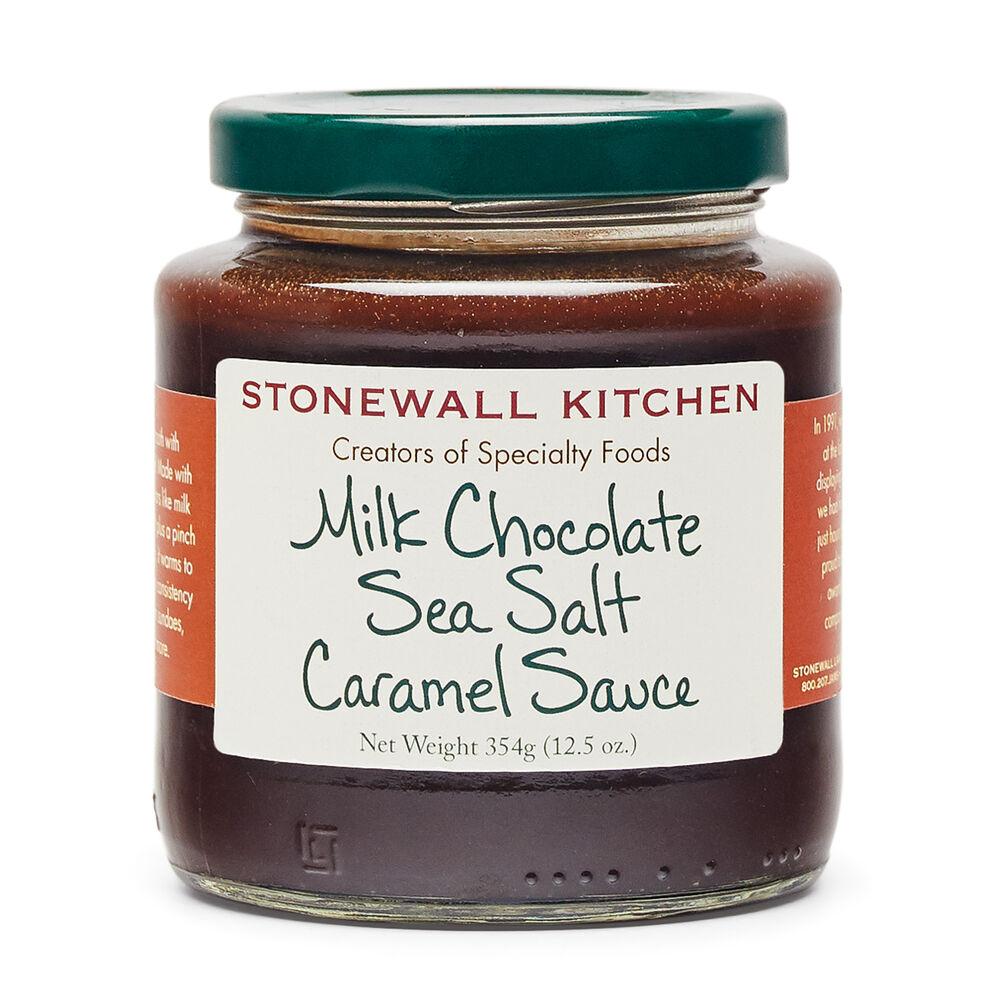 Milk Chocolate Sea Salt Caramel Sauce image number 0