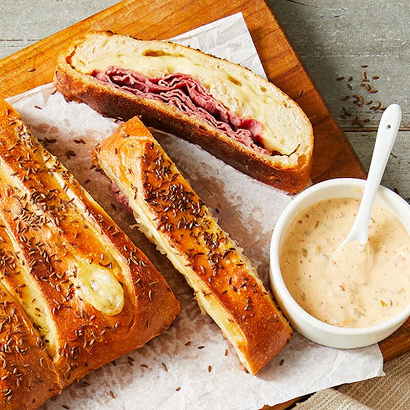 Braided Reuben Bread