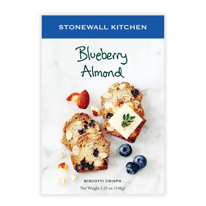 Blueberry Almond Biscotti Crisps