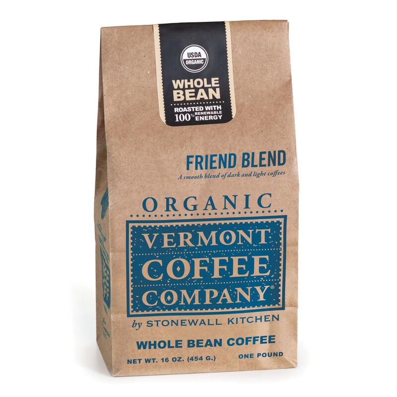 Organic Friend Blend Whole Bean Coffee