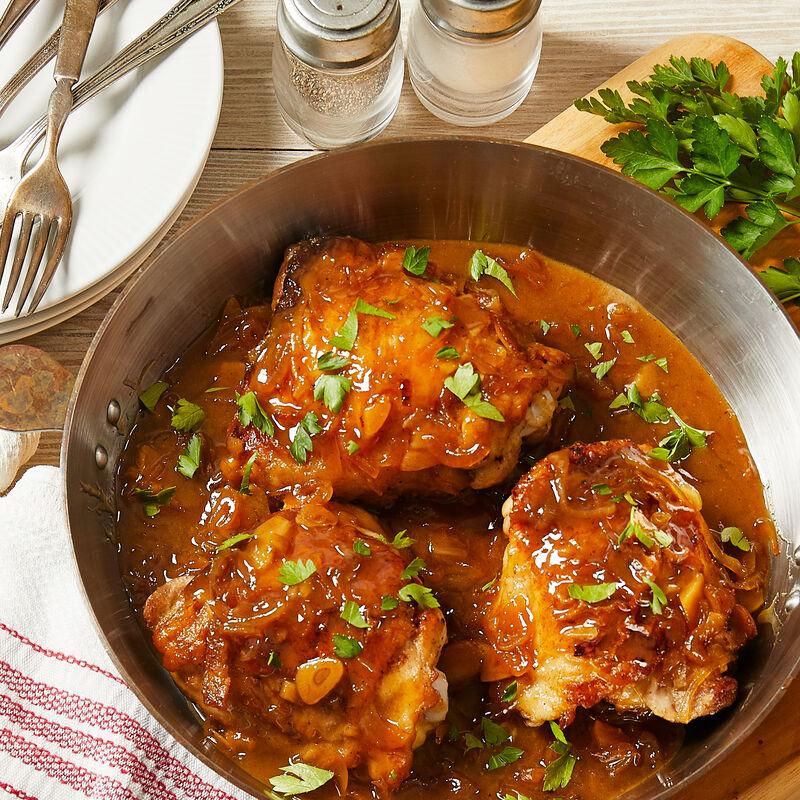 Shallot Rosé Chicken