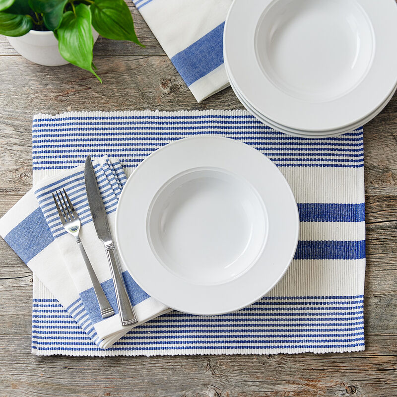 Blue & White Linens Collection