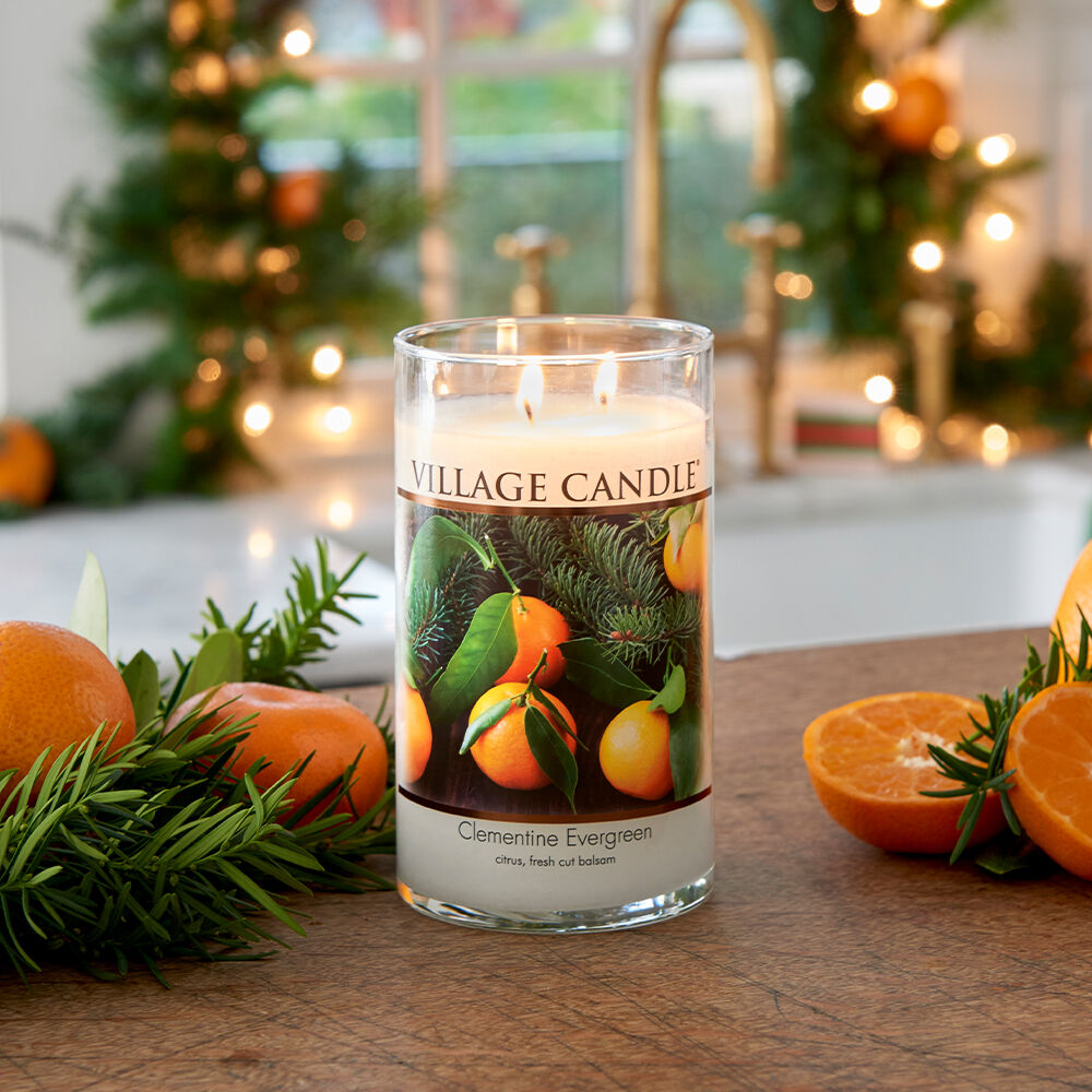 Clementine Evergreen Candle image number 6