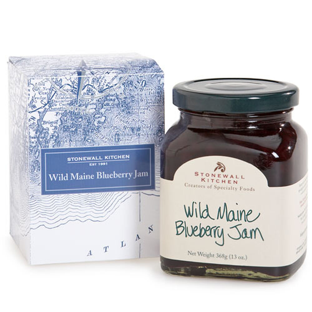 Down East Wild Maine Blueberry Jam Gift Box image number 0