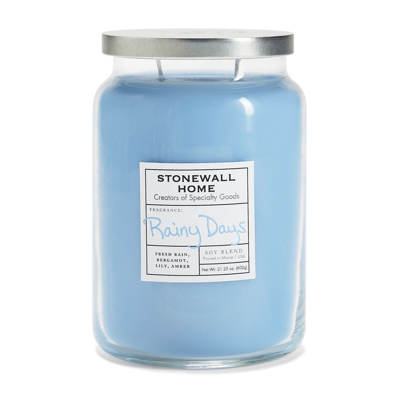Stonewall Home Rainy Days Candle Collection