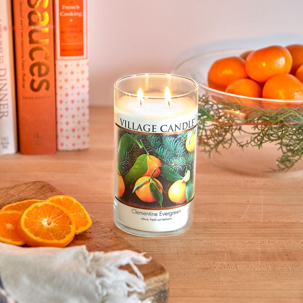 Clementine Evergreen Candle image number 5