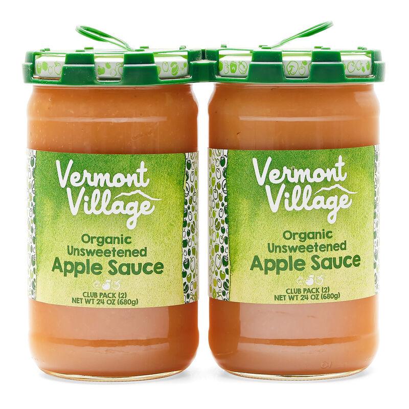 Unsweetened Apple Sauce (Organic) - 24 oz 2 pack