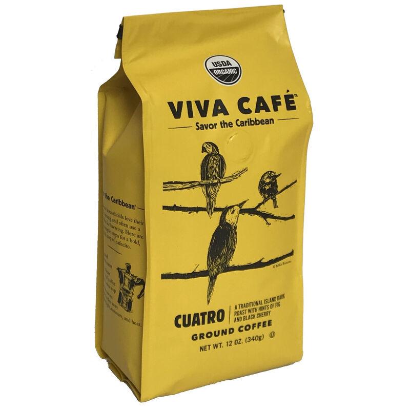 Viva Cafe Cuatro Ground Coffee 12oz