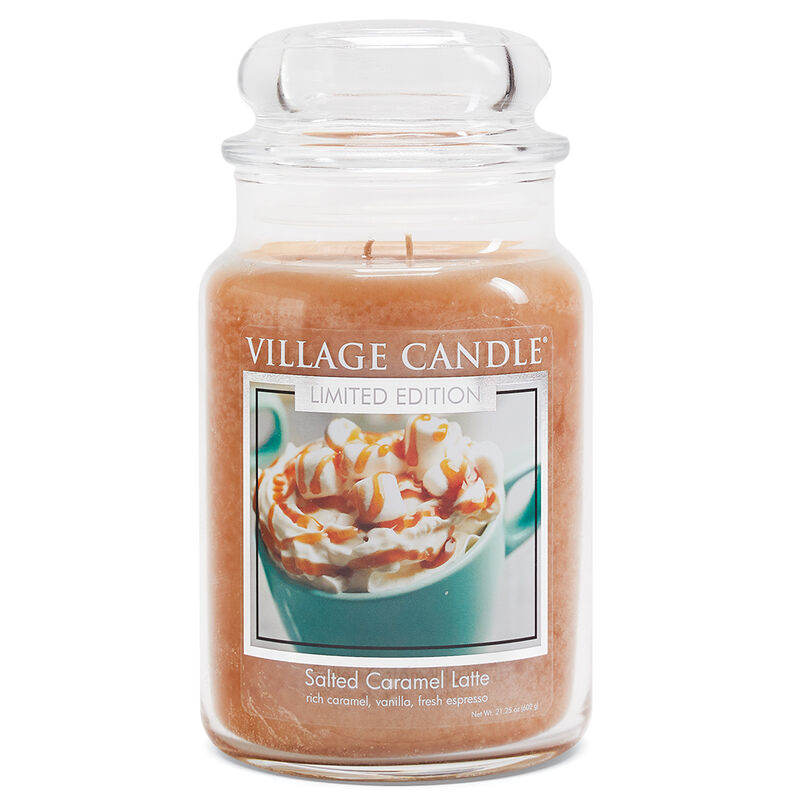 Salted Caramel Latte Candle