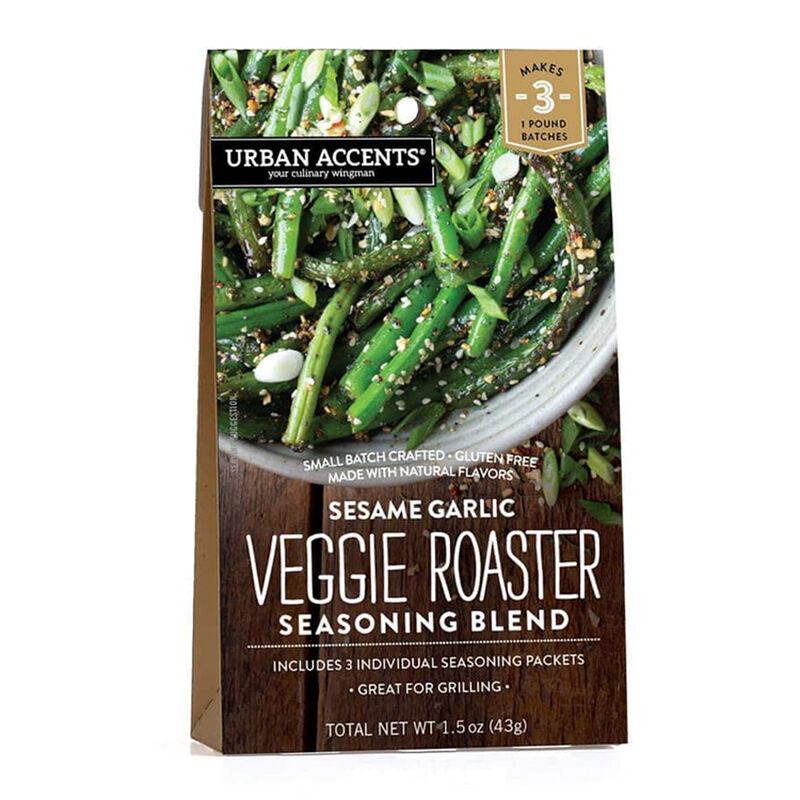Sesame Garlic Veggie Roaster