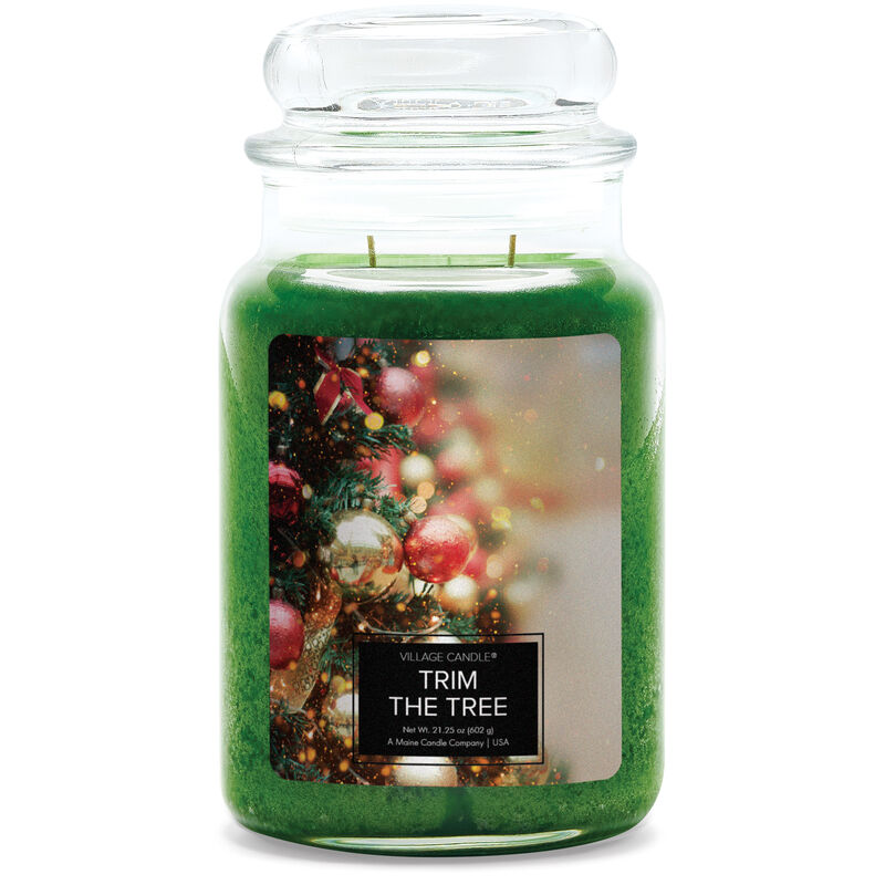 Trim the Tree Candle