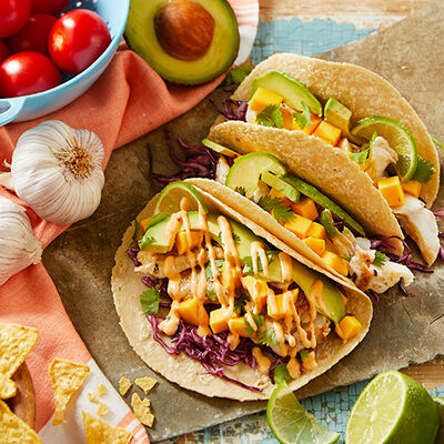 Cilantro-Lime Fish Tacos