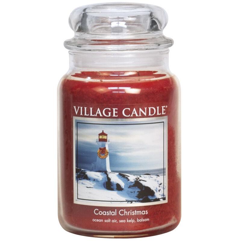 Coastal Christmas Candle