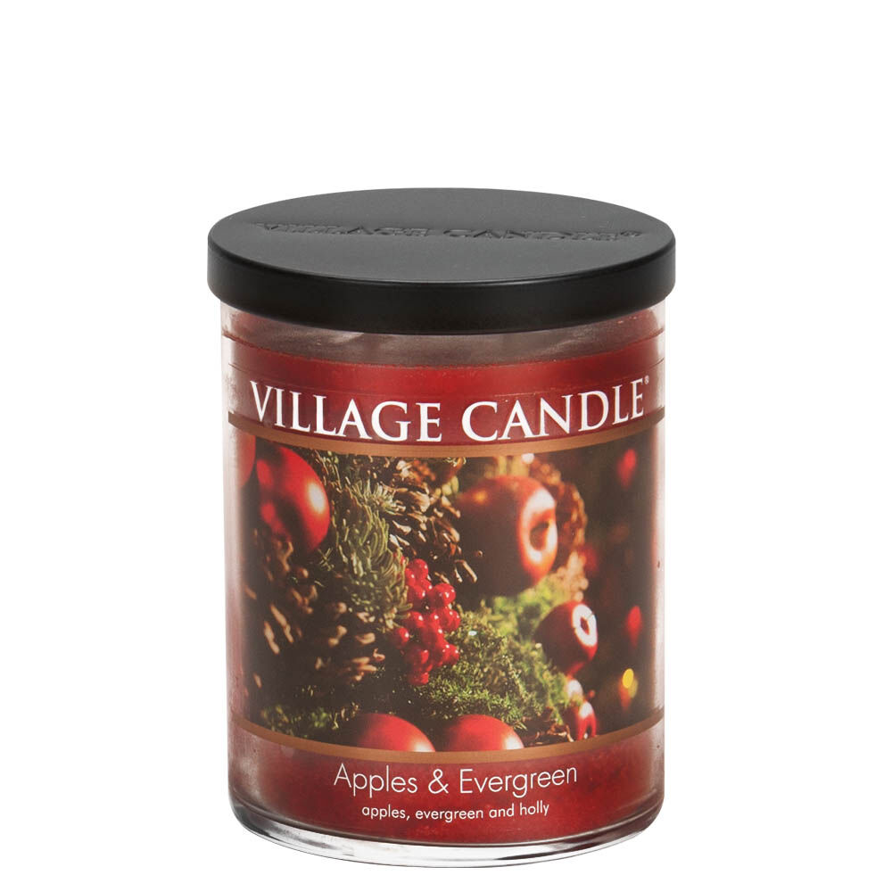 Apples & Evergreen Candle image number 1