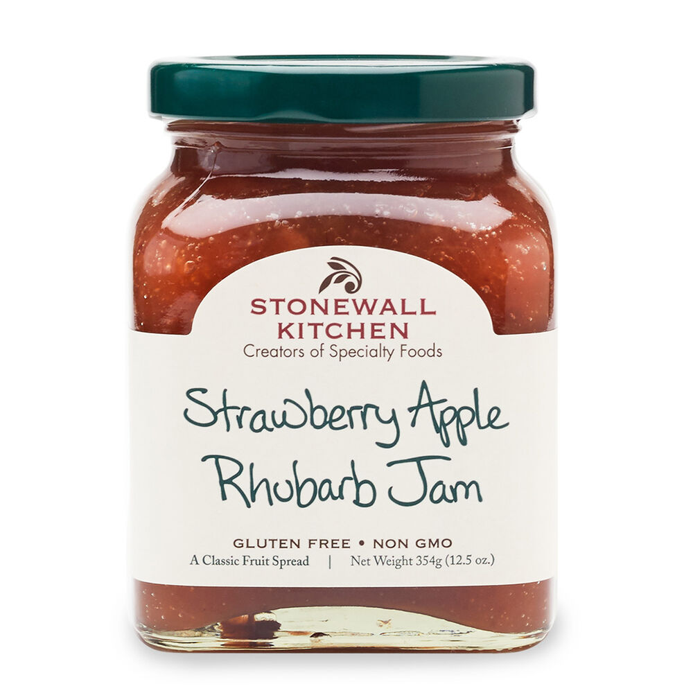 Strawberry Apple Rhubarb Jam image number 0